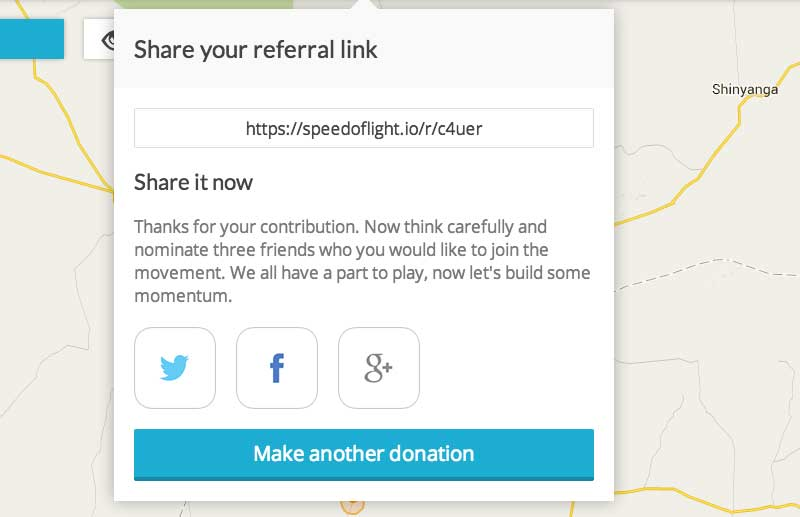 SolarAid's referral link