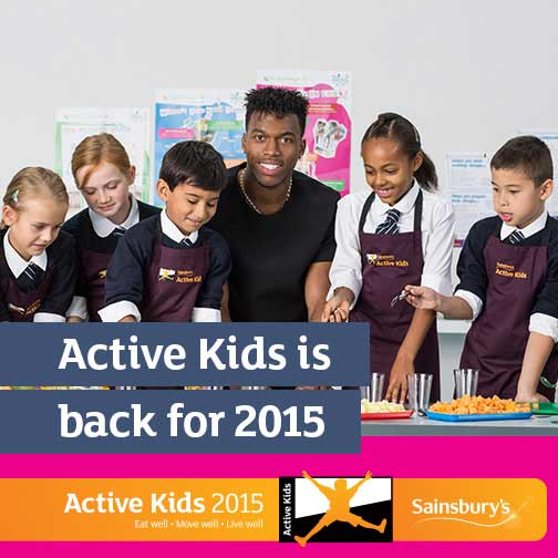Sainsbury's Active Kids 2015