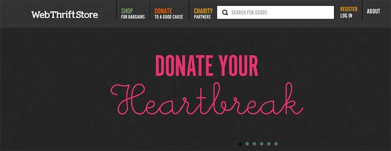 Donate Your Heartbreak