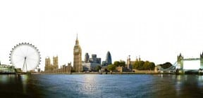 London skyline - image: Viewgene on Shutterstock.com