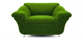 Green comfy chair by modest777 on Shutterstock.com