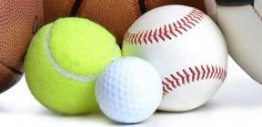Sports balls by Kim Reinick on Shutterstock.com