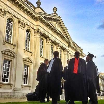 Graduates at the University of Cambridge