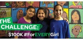 Girl Scouts' #ForEVERYGirl crowdfunding campaign