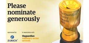 Guardian Charity Awards 2015