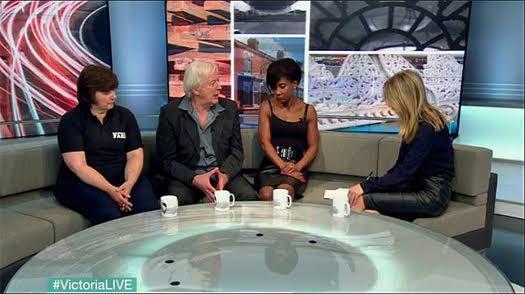 Ken Burnett interviewed on BBC TV by Victoria Derbyshire