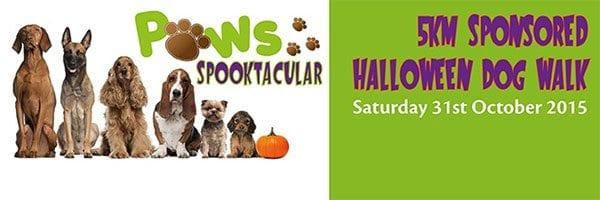 St Ann's Hospice Paws Spooktacular dog walk