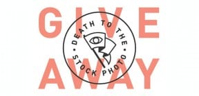 Death to Stock photoshoot giveaway
