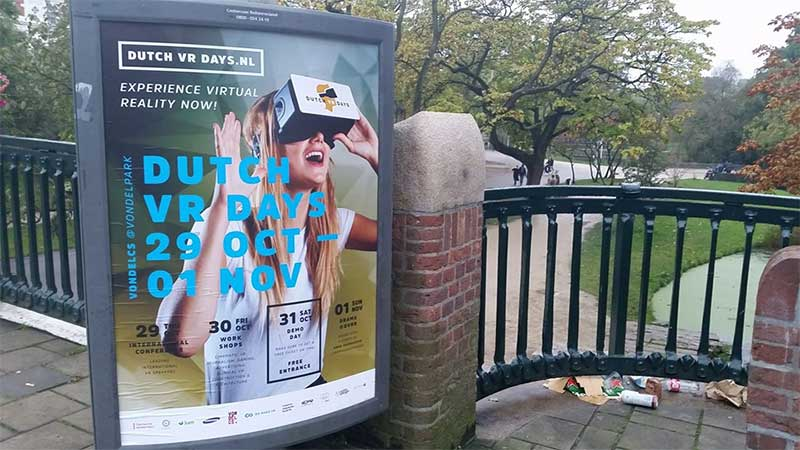 Dutch Virtual Reality festival 2015