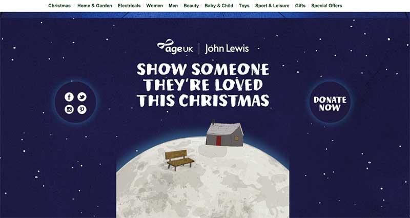 John Lewis - donate to Age UK