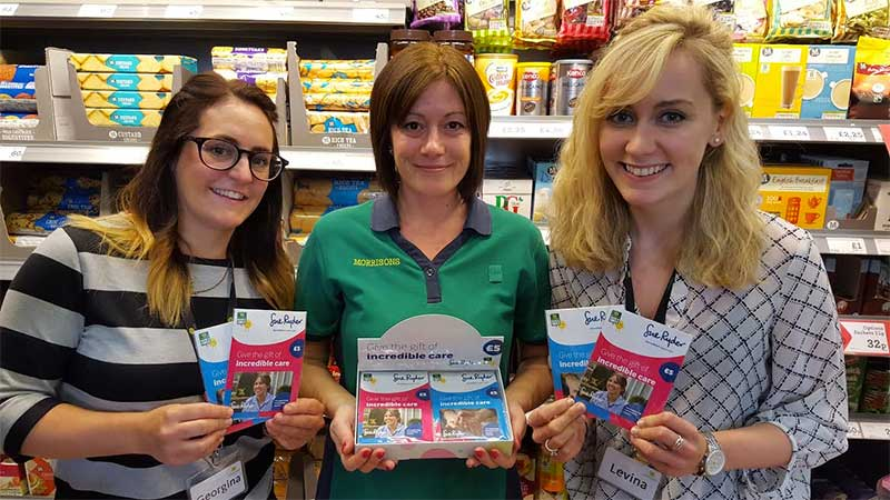 Morrisons staff support Giving Tuesday