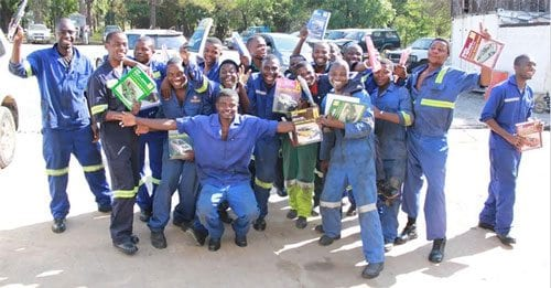 Haynes car manuals and Mechanics for Africa students