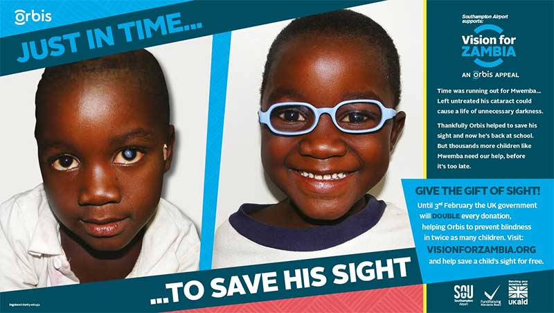Orbis Vision for Zambia poster