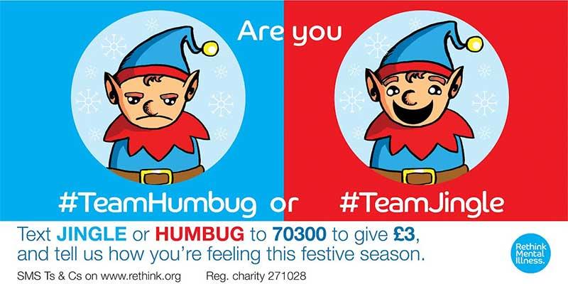 Rethink's Jingle or Humbug Christmas appeal