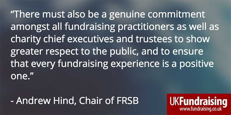 Andrew HInd's comment on FRSB report into Olive Cooke case