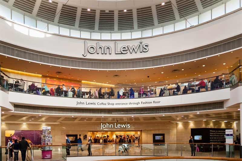 John Lewis, Glasgow: photo - Cornfield, Shutterstock.com