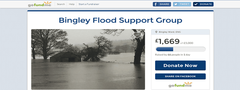 Bingley Flood Support Group